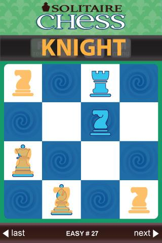 Solitaire Chess by ThinkFun- screenshot