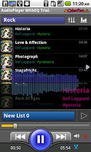 Audio Player WithEQ Trial - screenshot thumbnail