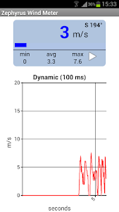 Zephyrus Basic Anemometer screenshot 1