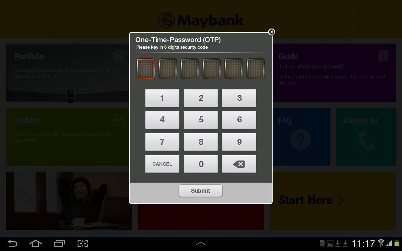 Maybank2E (HD) - screenshot