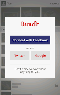 Bundlr - screenshot thumbnail