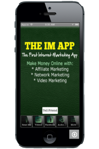 Internet Marketing App