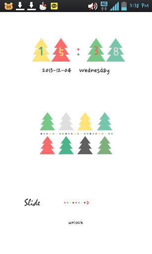 Tree Pattern go locker theme