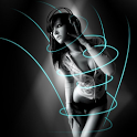 Motion Girl 3D Live Wallpaper icon