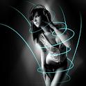 Motion Girl 3D Live Wallpaper icon