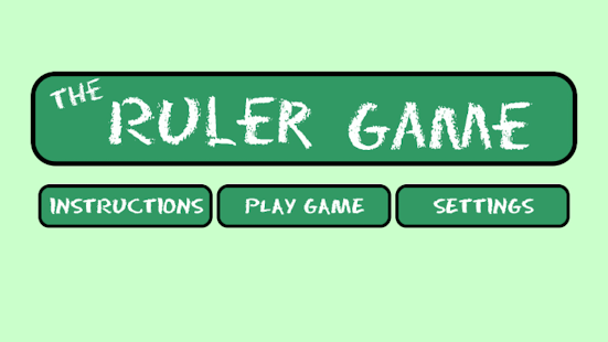 The Ruler Game - Free- screenshot thumbnail