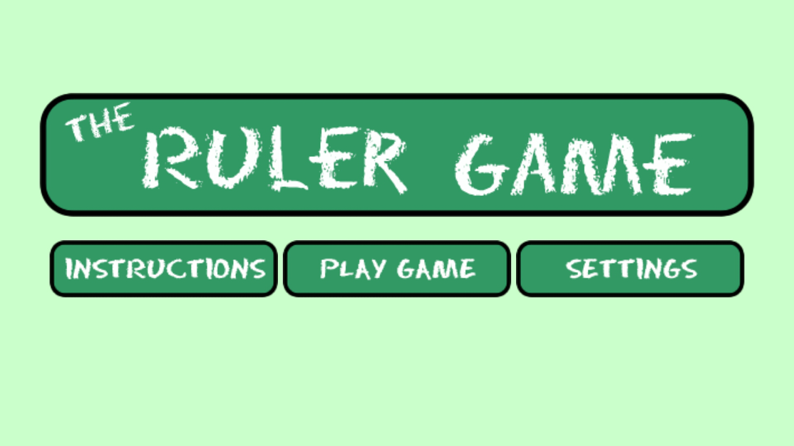 The Ruler Game - Free- screenshot