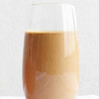 Peanut-Banana Espresso Smoothie.