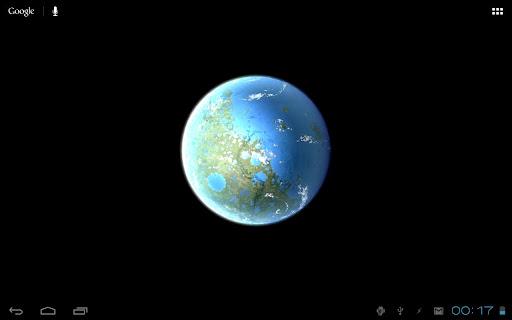 Moon Terra 3D Live Wallpaper