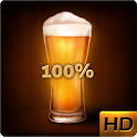 Beer battery widget icon