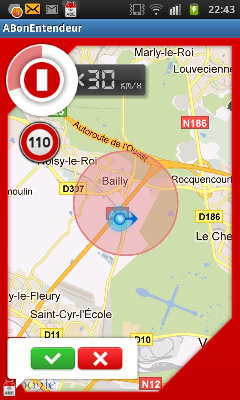 ABE (GPS communautaire) - screenshot