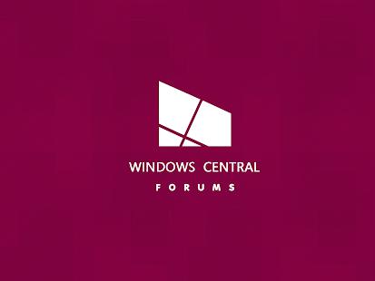 Windows Central Forums- screenshot thumbnail