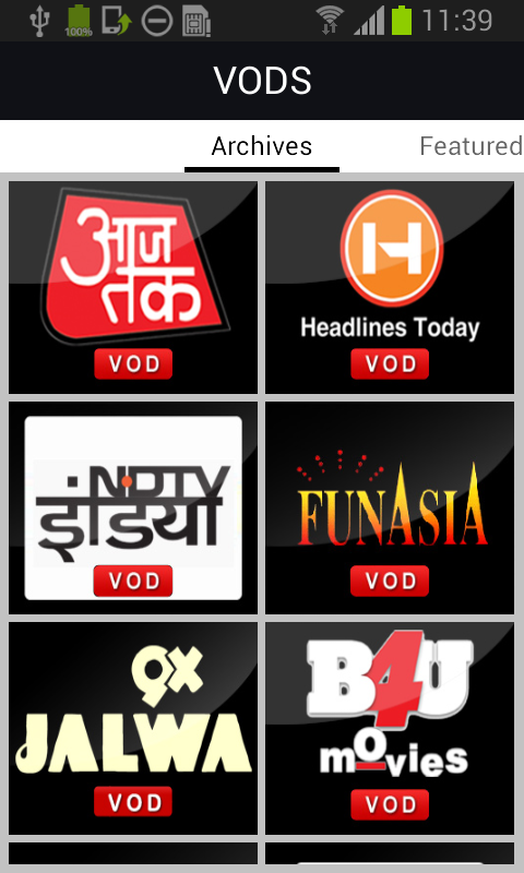 YuppTV - Indian Live TV Movies - screenshot