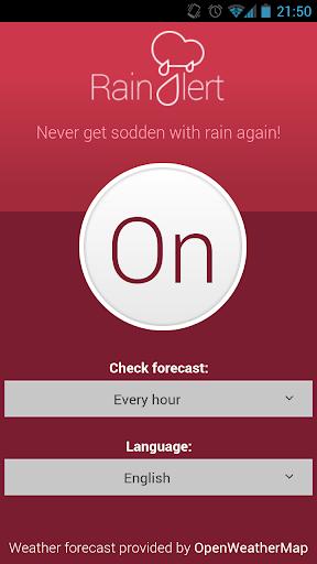 Rain Snow Alert