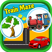 Train Maze for Toddler Free