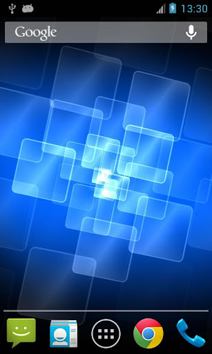 光之網格動態桌布 Holo Grid