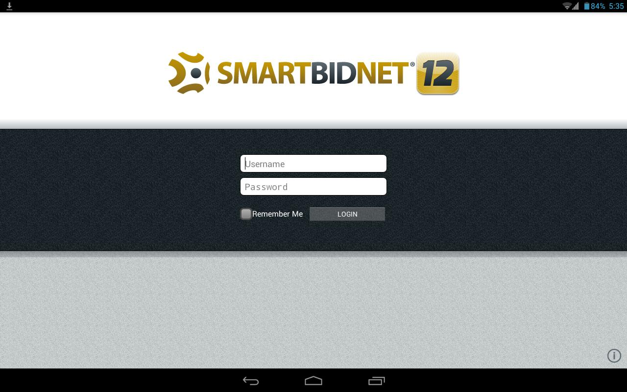 SmartBidNet - screenshot
