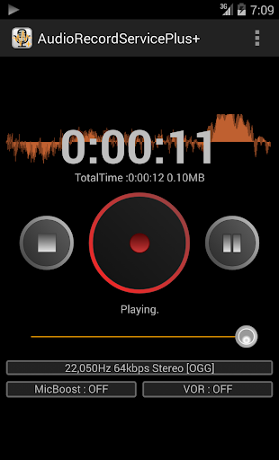 Audio Record Service Plus+
