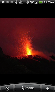 Live Volcano Live Wallpaper screenshot 3