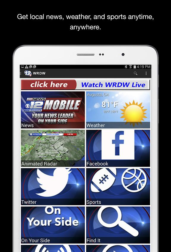 WRDW News 12- screenshot