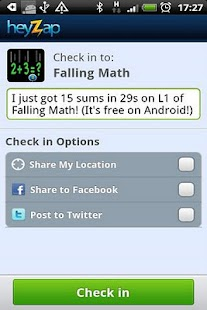 Falling Math - screenshot thumbnail