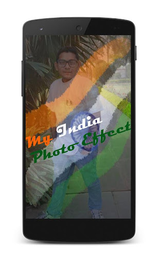 My Photo Indian Flag Effects
