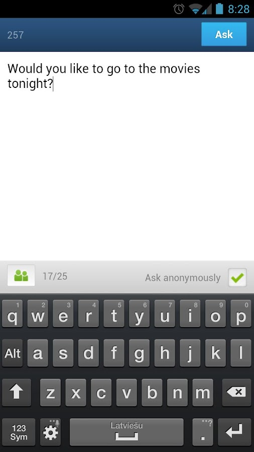 Ask.fm - screenshot