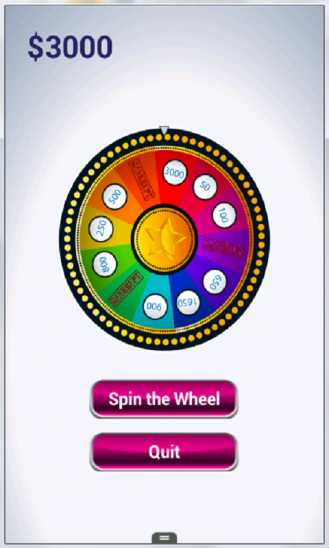 Fortune Wheel- screenshot