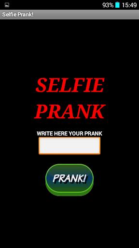 Selfie Prank