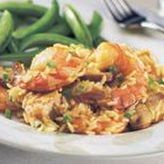Chicken and Shrimp Casserole.