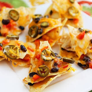 Cheesy Mexican Nacho Stacks.