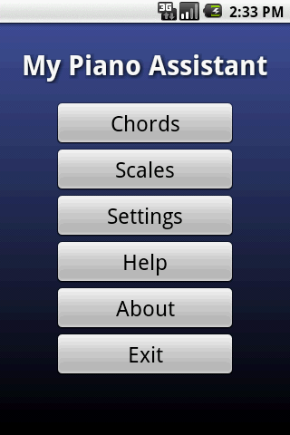 My Piano Assistant - screenshot