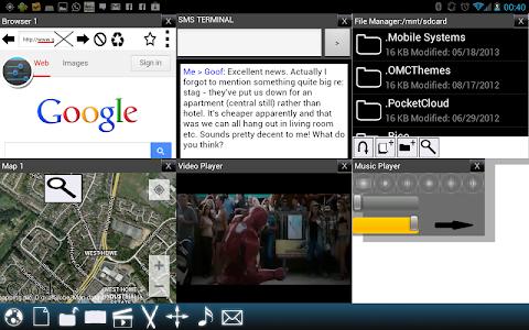 Split View Multi Screen Tablet v17.2