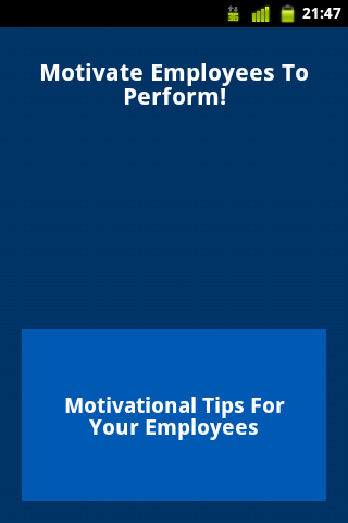 Motivate Employees To Perform