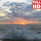 Ocean Sunrise Live Wallpaper icon