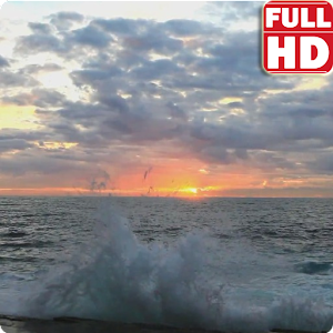 Ocean Sunrise Live Wallpaper 個人化 App LOGO-APP試玩