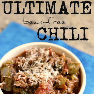 The Ultimate Bean Free Chili. (Paleo Chili)
