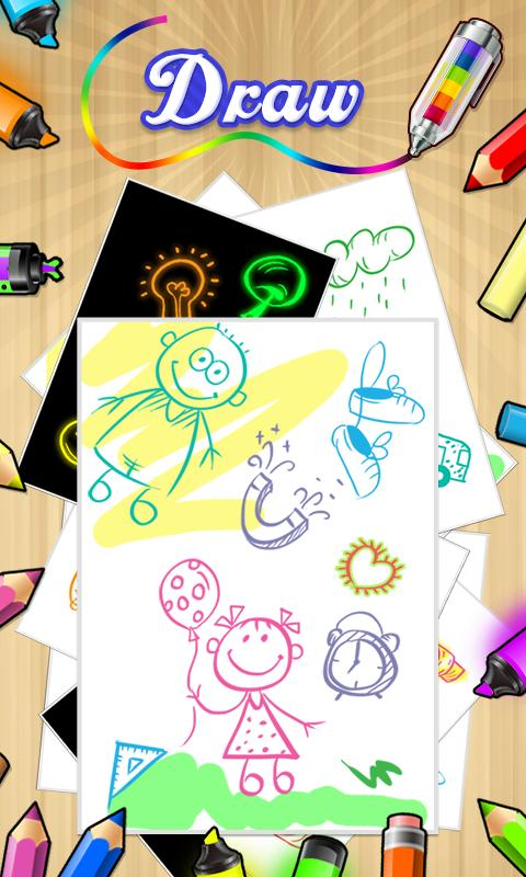 Online Colouring Pages For 7 Year Olds : Color draw & coloring books android apps on google play