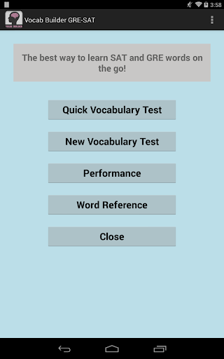 Vocab Builder: SAT Lite