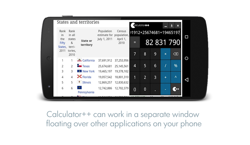 Calculator ++ Screenshot 4