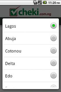 Cheki.com.ng Cheki Nigeria - screenshot thumbnail