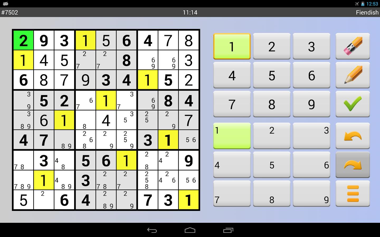Sudoku 10'000 Plus - screenshot