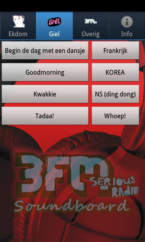 3FM Soundboard Pro - screenshot