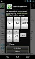 Screenshot of GCF Excel 2010 Tutorial