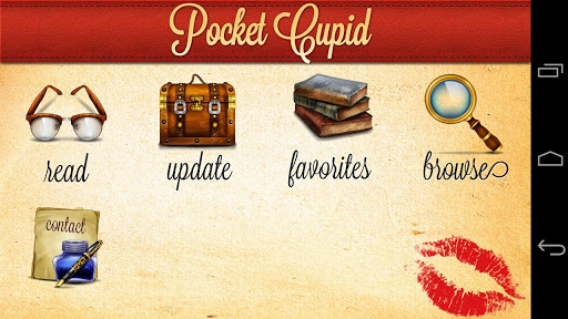 【免費書籍App】Pocket Cupid-APP點子