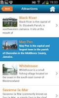 Screenshot of Jamaica Guide Map & Hotels