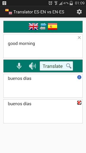 İspanyolca İngilizce Çevirmen