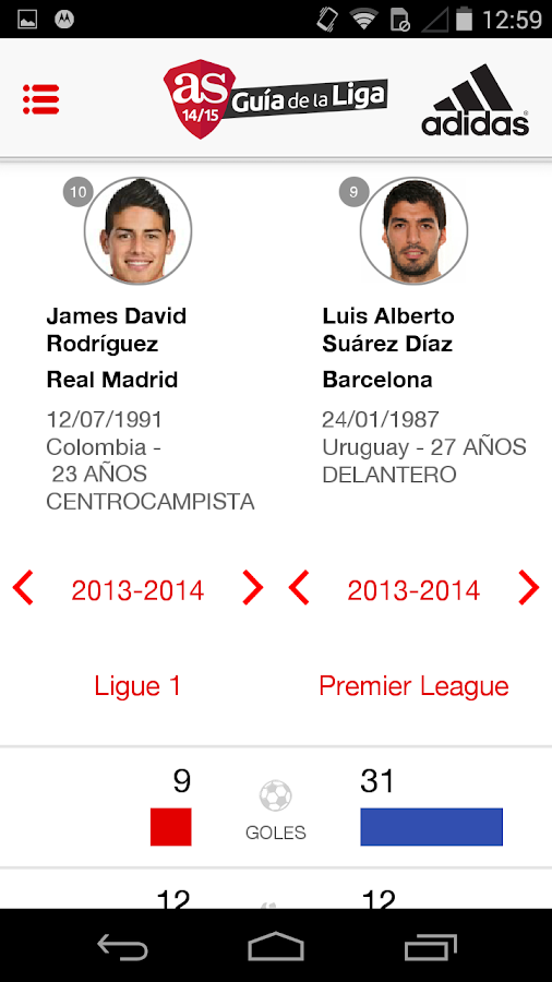 AS Guía de la Liga 2014- screenshot