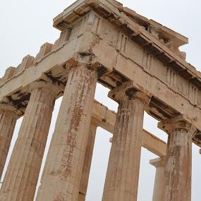 Acropolis by Cal Johnson - Buildings & Architecture Public & Historical ( ancient, greece, athens, tourism, historic )