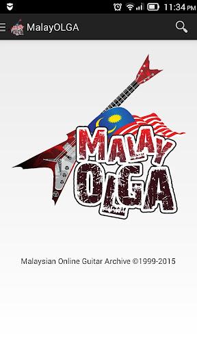 MalayOLGA - Guitar Chords